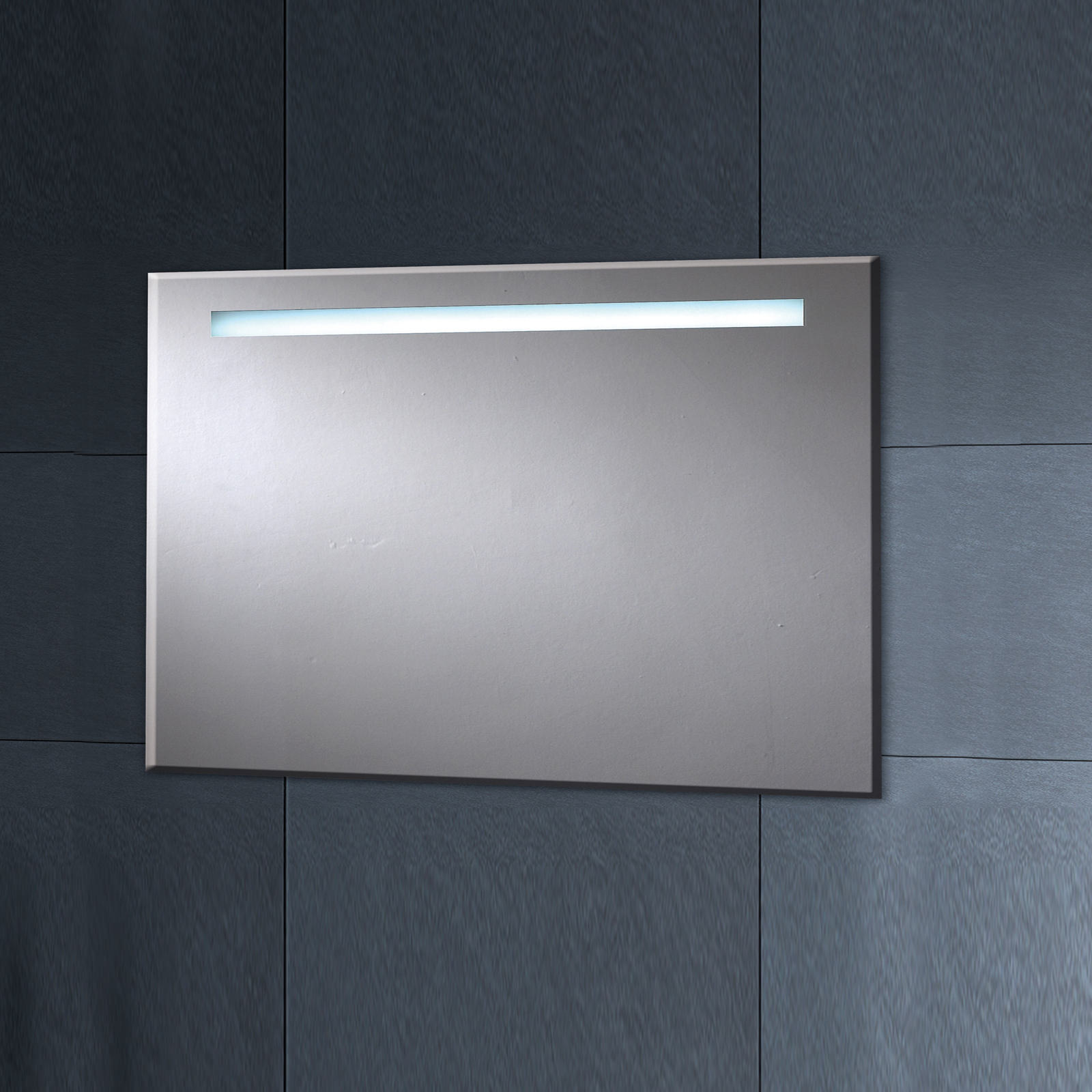 phoenix pluto led mirror with demister pad 900 x 600mm