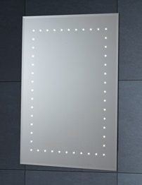 Phoenix LED Mirror 600mm x 900mm With Demister Pad