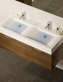 Roper Rhodes Envy 1200mm Basin Unit With Basin And Mixer Tap