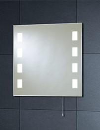Phoenix Illuminated Back Lit Mirror 600mm x 600mm