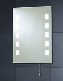 Phoenix Back lit Mirror With Pull Cord 700 x 500mm