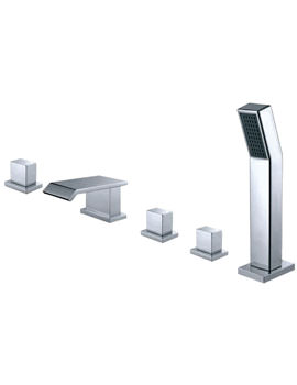 Phoenix QS Series 5 Hole Deck Mounted Bath Shower Mixer Tap