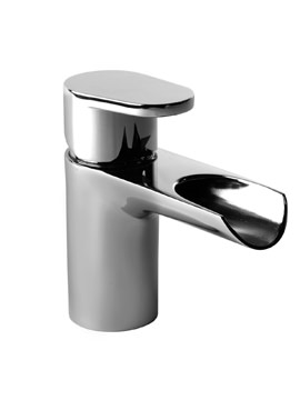 Roper Rhodes Stream Open Spout Basin Mixer Tap With Click Waste