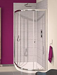Aqualux Aqua 6 Off-Set Quadrant Shower Enclosure 1200 x 800mm