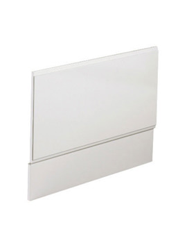 Phoenix Bath End Panel White