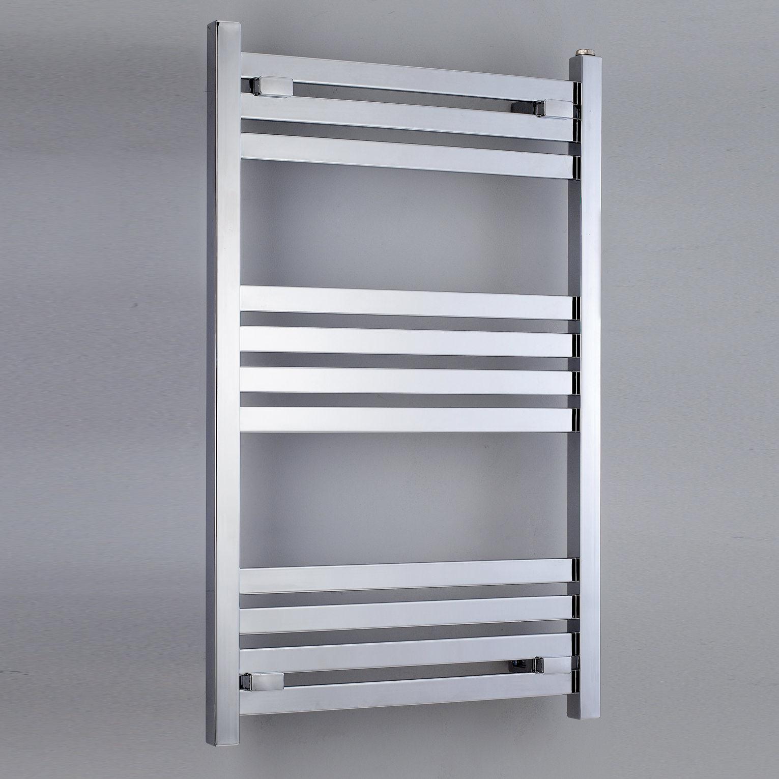 phoenix davina chrome 500 x 1200mm designer towel rail. Black Bedroom Furniture Sets. Home Design Ideas