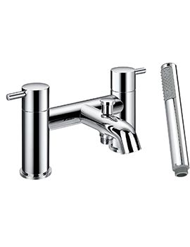 Phoenix AR Series Bath Shower Mixer Tap Chrome