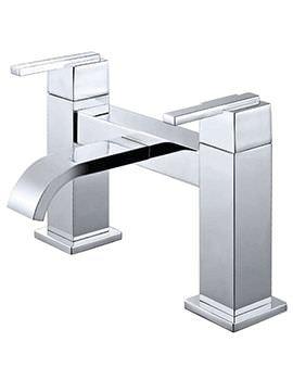 Phoenix BQ Series Deck Mounted Bath Filler Tap Chrome