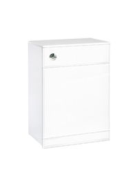 Phoenix Euro White Back To Wall Unit 800 x 600mm
