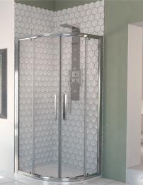 Aqualux Aqua 8 Glide Quadrant Shower Enclosures 800mm
