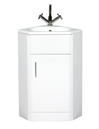 Phoenix Linda Corner Base Unit And Corner Basin 850 x 560mm