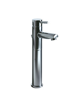 Roper Rhodes Storm Tall Basin Mixer Tap With Click Waste