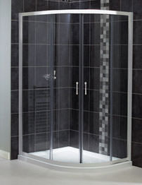 Aqualux Shine Off-Set Quadrant Shower Enclosure 760mm x 900mm