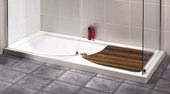 Aquaspace Shower Tray And Footboard