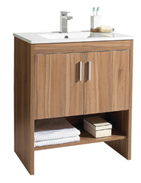 Phoenix Ciro Twin Door Marango Base Unit And Basin 750mm