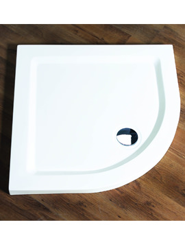Aqualux Aqua 55 Quadrant Shower Tray 900mm x 900mm White