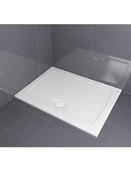 Aqualux Aqua 30 Rectangle Shower Tray 1200 x 760mm