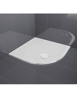 Aqualux Aqua 30 Quadrant Shower Tray 800 x 800mm