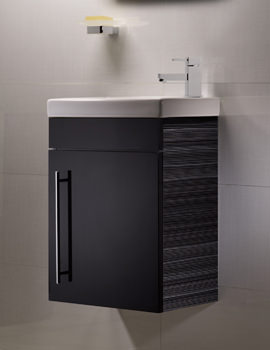 Roper Rhodes Esta Anthracite Finished Wash Unit And Ceramic Basin