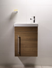 Roper Rhodes Esta Wall Hung Walnut Wash Unit And Ceramic Basin
