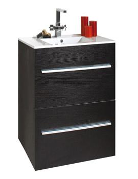 Phoenix Zola Floor Standing Vanity Unit And Basin 840 x 750mm