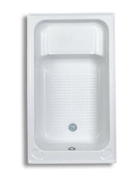 Trojan Kent 5mm Acrylic Sit Bath 1220 x 715mm White