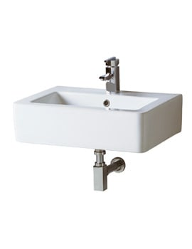 Phoenix Qube Wall Hung Basin 600mm