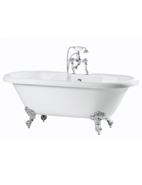 Phoenix Double Ended Roll Top Bath 1700 x 750mm