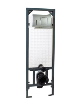 Phoenix WC Wall Mounting Fixing Frame With Square Face Plate