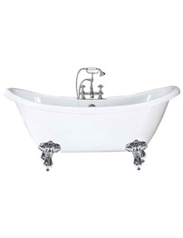Phoenix Double Ended Slipper Bath 1750 x 720mm