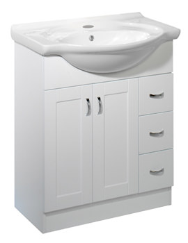 Roper Rhodes New England 700mm White Finished Freestanding Unit