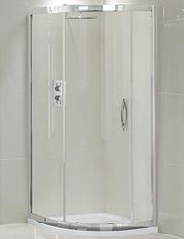 Aquadart Venturi 900 x 900mm Single Door Shower Quadrant