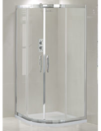 Aquadart Venturi 900 x 900mm Double Door Shower Quadrant