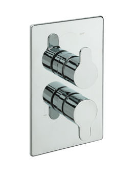 Tre Mercati Lollipop Concealed Thermostatic Shower Valve