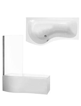 Phoenix Capri Left Hand Front Panel And Screen Bath 1700 x 750mm