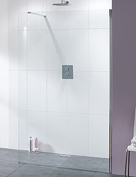 Lakes Coastline Cannes or Levanzo Walk In Shower Screen 900mm