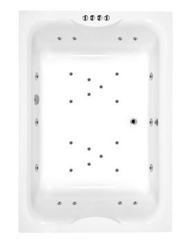 Phoenix Marino Rectangular Whirlpool And Airpool System 3 Bath