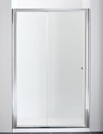Manhattan New Era 1100mm Straight Sliding Shower Door