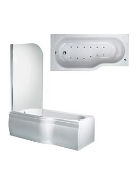 Phoenix Space Airpool Shower Bath With Bath Screen And Bath Panel