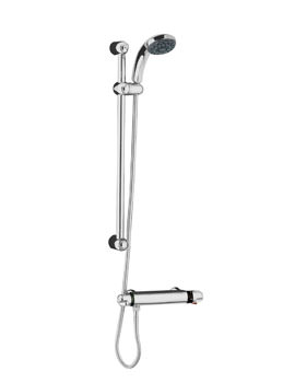 Beo Glade Thermostatic Bar Shower With Slide Rail And Head