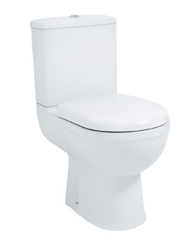 Phoenix Emma Tall WC Pan And Fixing 810 x 360mm