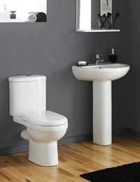 Lauren Ivo 4 Piece Cloakroom Suite