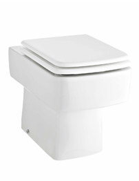 Lauren Bliss Back To Wall Short Projection Pan And Seat