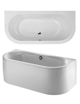 Phoenix Dee Bow Fronted Bath 1700 x 800mm With Panel