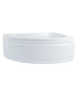 Phoenix Duo Corner Shower Bath 1500 x 1000mm - Left Handed