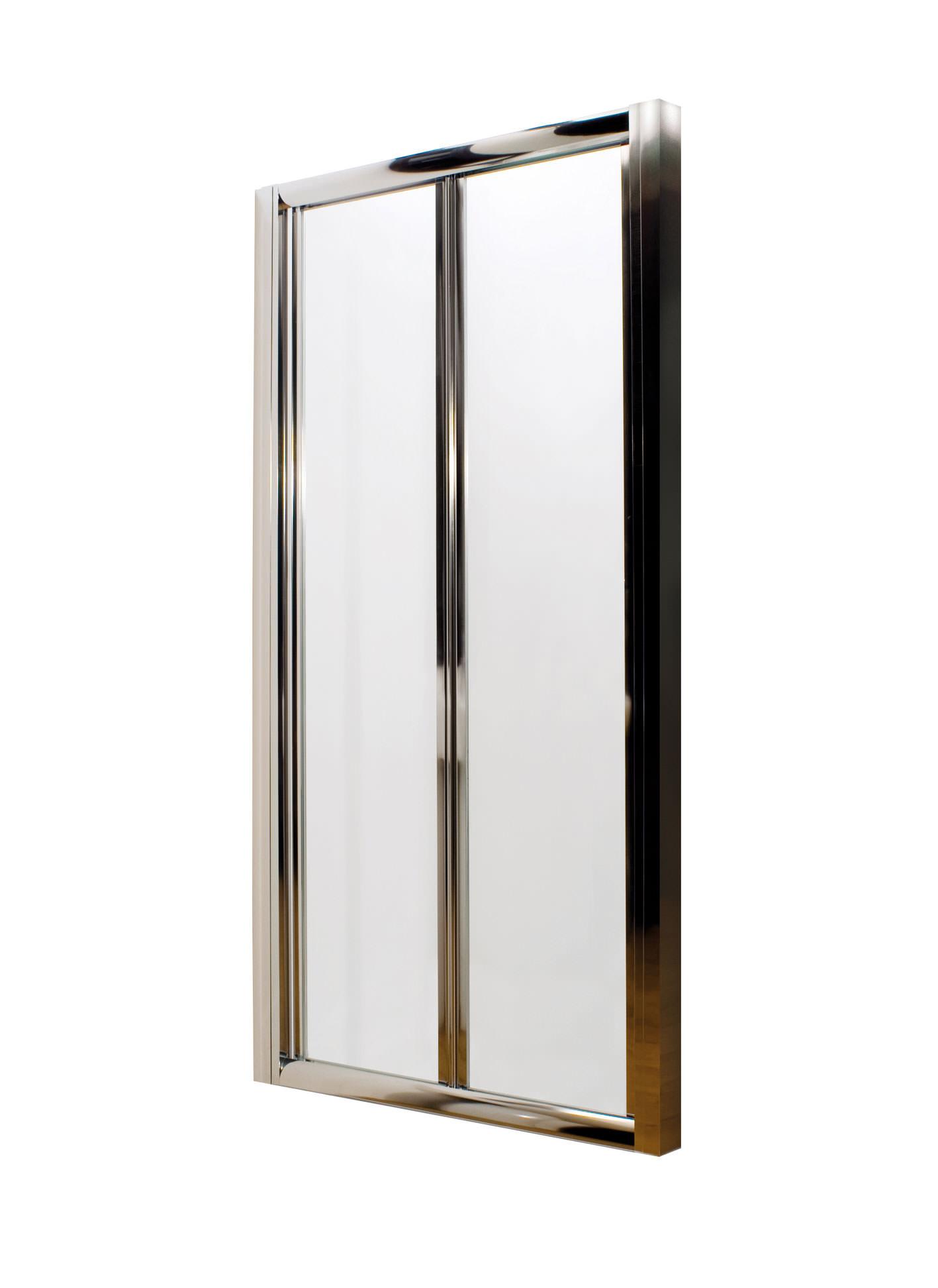 Lauren pacific bi fold shower door 1000mm for 1000mm door