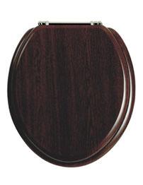 Heritage Standard Walnut WC Seat