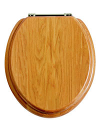 Heritage Standard Oak WC Seat