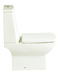 Heritage Sonic Square Easy Plumb Close Coupled WC And Cistern