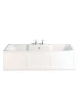 Heritage Granley 1800 x 800mm Double Ended Fitted Bath